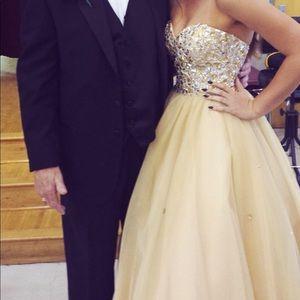 Prom/court dress